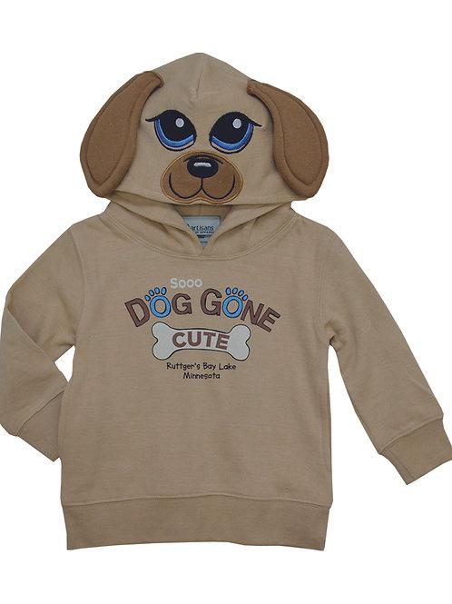 Toddler Dog Gone Cute Hoodie