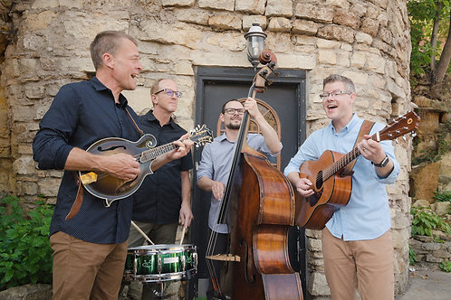 The Barley Jacks with Broken Heartland String Band, September 5, 7 p.m.