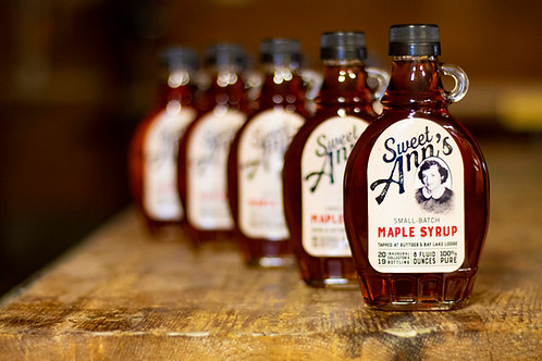 Sweet Ann's Small-Batch Maple Syrup