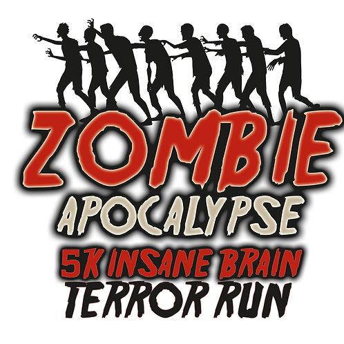 CANCELED for 2020! Zombie Apocalypse 5k Fun Run, October 31