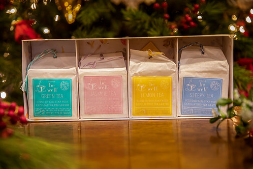 be well Tea Soaps