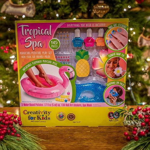 Tropical Spa Manicure/Pedicure Play Set