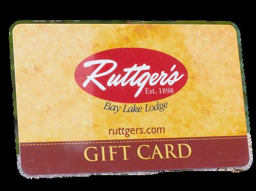 Ruttger's Gift Card