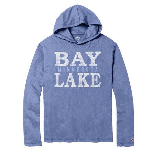 Men's Bay Lake Long Sleeve Hooded Tee