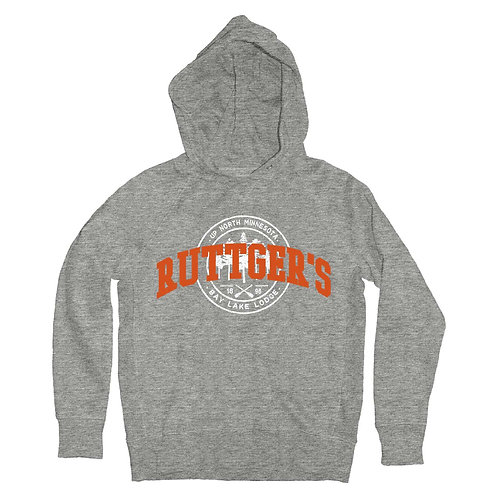 Youth Ruttger's Sanded Fleece Pullover Hood