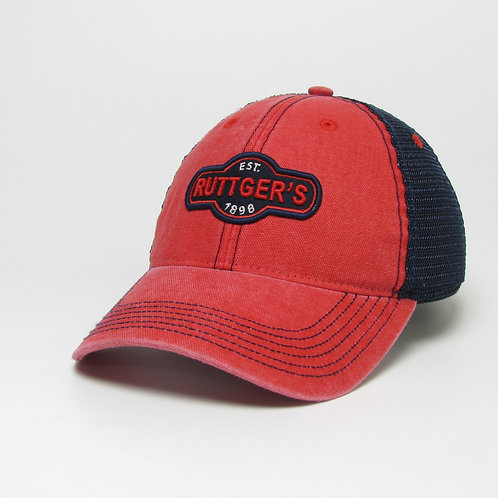 Red/Navy Ruttger's Trucker