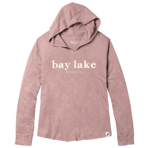 Women's Bay Lake Slub Hoodie
