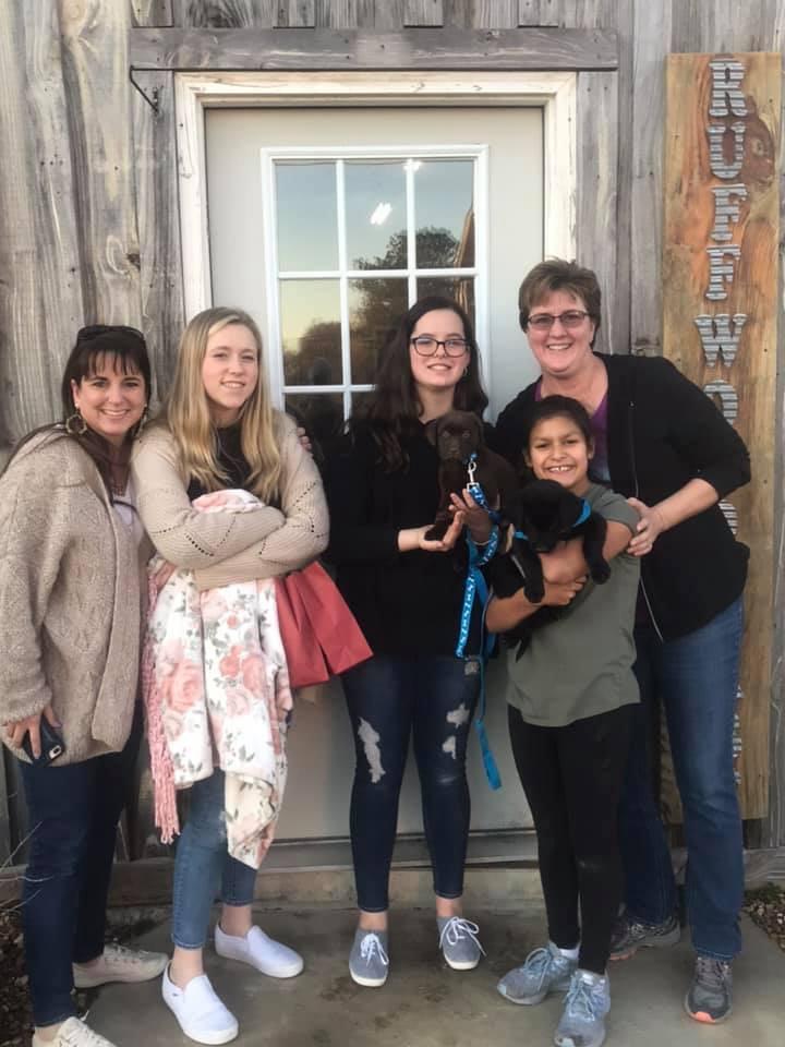 Evie & Allie join the Tirri Family
