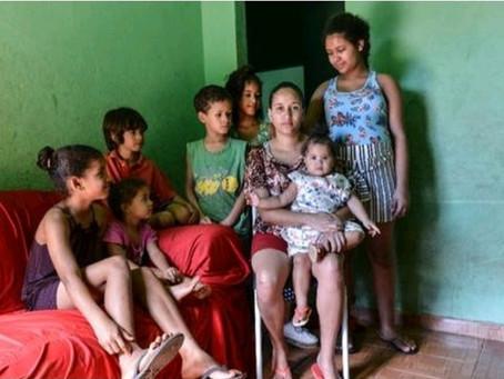 Famílias na extrema pobreza triplicam em Belo Horizonte