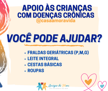 Apoio às crianças com doenças crônicas