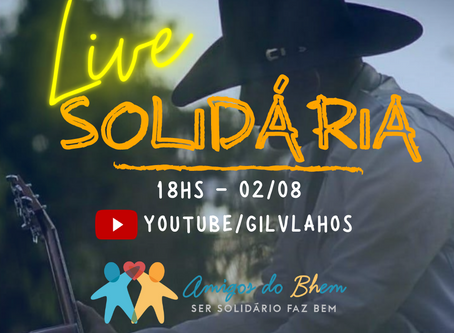 Live Solidária Amigos do BHem - Gil Vlahos