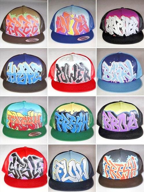 Custom Graffiti Trucker Hat