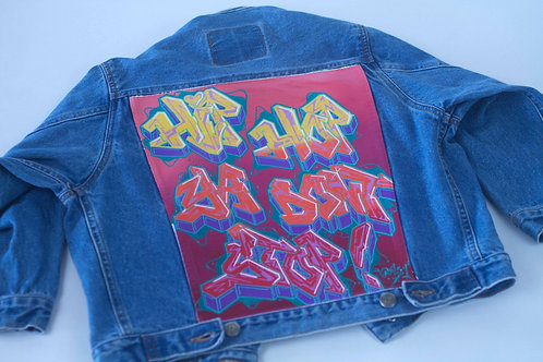 Hip Hop Ya Don't Stop Kids Denim Jacket