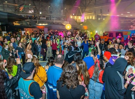 80's VS 90's Party at Wings Over the Rockies