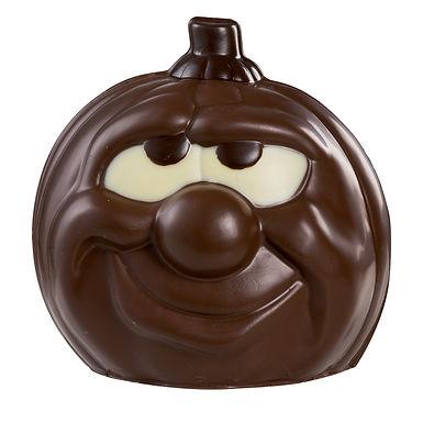 Big Pumpkin Mold Martellato 3D Halloween, Thermoformed Plastic, 140x140x150mm