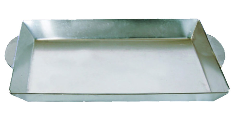 Meal Serving Tray, Rectangle, Aluminum, 34x20cm