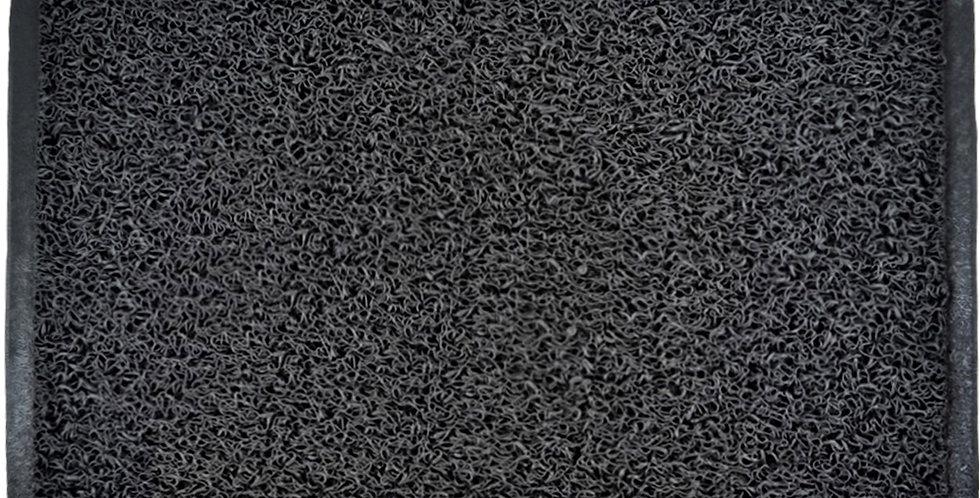 Rubber Doormat, Black, 90x120cm