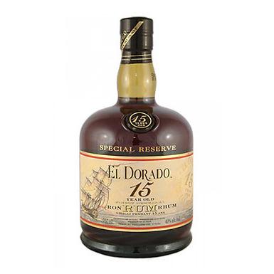 El Dorado 15 Year Old Rum, 700ml