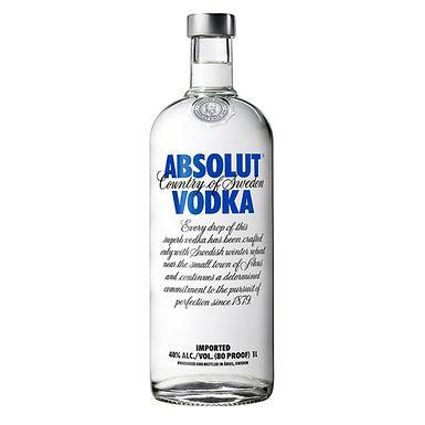 Absolut Blue Label Vodka, 1L