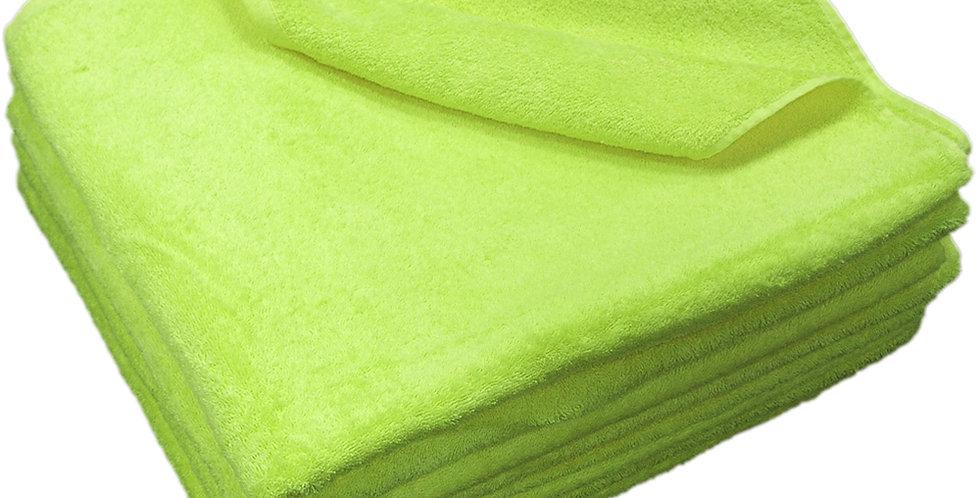 Beach Towel Fragente, Lime, 16/1, 450gr/m², 75x150cm