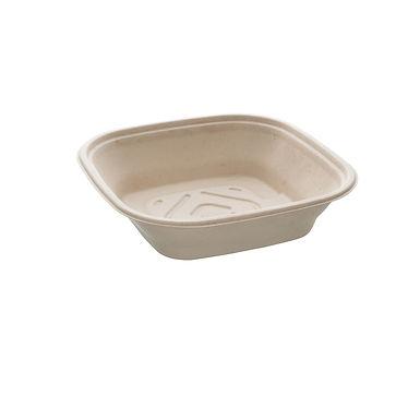 Catering Bowl Sabert bepulp, Pulp, Natural, 27x27x7cm, 2250ml