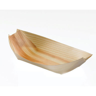 Big Boat in Sachet Leone, Pine Wood, 50 pcs, 15x7.5x2cm