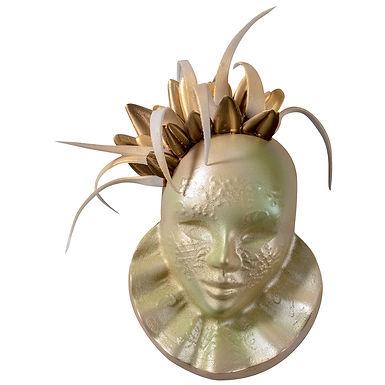 Carnival Mask Chocolate Mold Martellato, Thermoformed Plastic, 105x135x40mm