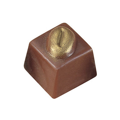 Chocolate Mold MA1019 Martellato Classic, Polycarbonate, 40 pcs, 25x25x23mm, 13g