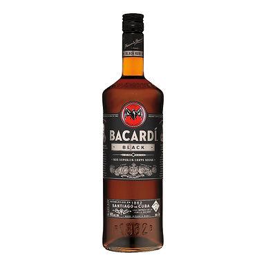 Bacardi Black Rum, 1L