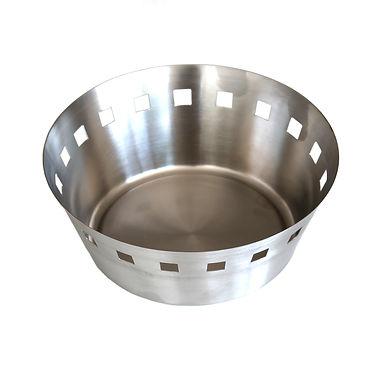 Bread Basket, Inox, 2 Sizes