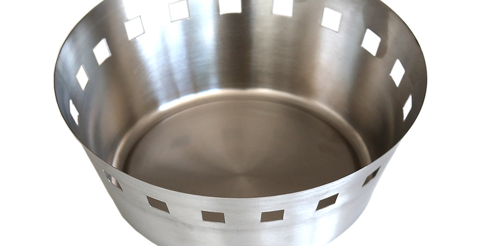 Bread Basket, Inox, 2 Sizes
