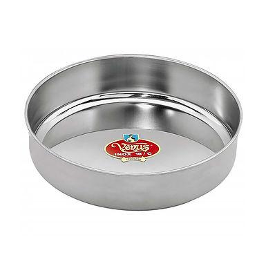Baking Pan Venus, Deep, Round, Stainless Steel, Ø34cm