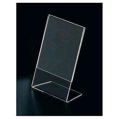 Display Stand L Leone, Plexiglass, 14.8x21cm