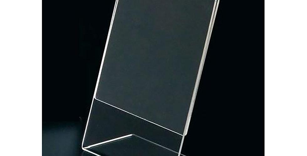 Display Stand L Leone, Plexiglass, A4, 21x29cm