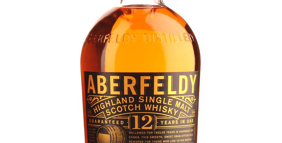 Aberfeldy 12 Years in Oak Scotch Whisky, 700ml
