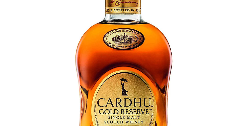 Cardhu Gold Reserve Scotch Whisky, 700ml