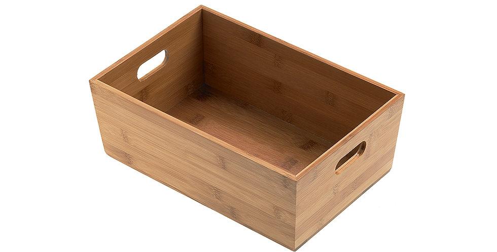 Breadbox Leone, Bamboo, Natural, 1 pc, 20x15x9cm
