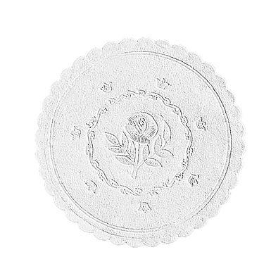 Coaster Leone, Paper, White, 500 pcs, Ø10cm