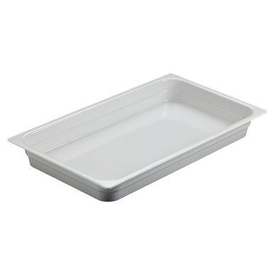 Ambra Tray Leone, Melamine, White, 1 pc, GN 1/1, 53x32.5x6cm