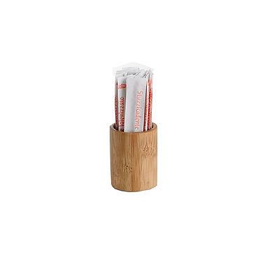 Chili Toothpicks Holder Leone, Bamboo, 6 pcs, Ø3.5x4.5cm