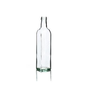 Bottle Marasca, Glass, Half White, 500ml, 31.5x18