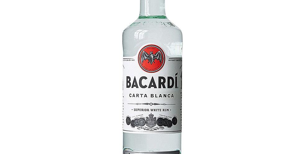 Bacardi Carta Blanca Rum, 700ml