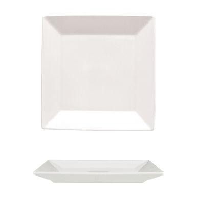 Flat Plate Gural Porselen Merid, Porcelain, White, 5 Sizes