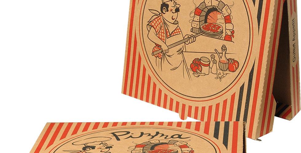 Pizza Box, Cardboard, Pigiama, 2 Sizes, 5cm