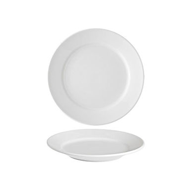 Bread Plate Alar Rio, Porcelain, White, Ø16.5cm