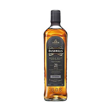 Bushmills Aged 21 Years Irish Whiskey, 700ml