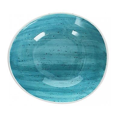 Bowl Tognana B-Rush Blue, Porcelain, Oval, 2 Sizes