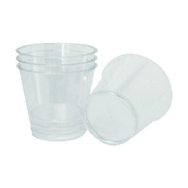 Disposable Cups, PS, Transparent, 180ml., 50pcs.