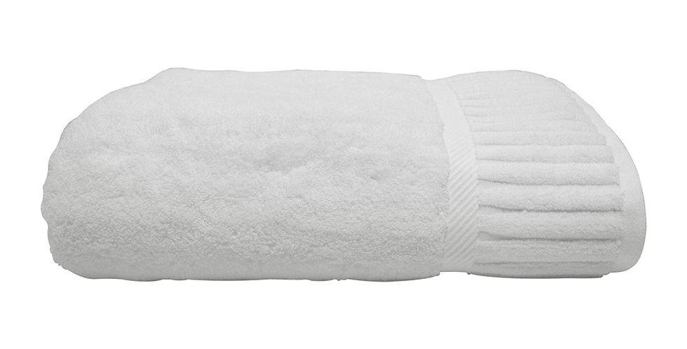 Bath Towel Artisti Italiani, White, Piano Pattern, 24/2, 680gr/m², 80x150cm