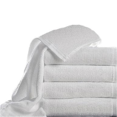 Bath Towel Fragente, White, 16/1, 400gr/m², 70x140cm